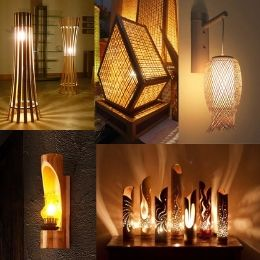 Decorative Natural Bamboo Lamps Category