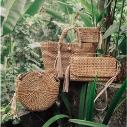 Straw Bags and Baskets Category
